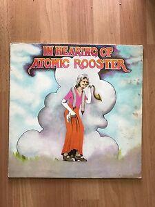 Atomic Rooster - In Hearing Of   UK Pegasus PEG 1 A-1U/B-1U