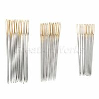 30Pcs Embroidery Sewing Needles #22 #24 #26 for 9/11/14CT Fabric Cross Stitch