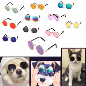 Pet Glasses Dog Cat for Pet Little Dog Puppy Sunglasses Photos Props Accessories