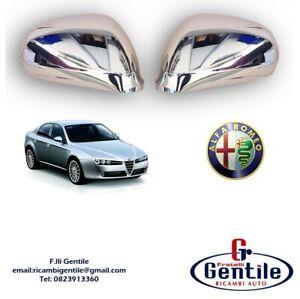 Alfa Romeo 159 Set Calottes Chromé A Miroir Pour Rétroviseurs Gauche + Droite