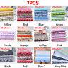 7PCS/set Quilting Bundle Patchwork Cotton Fabric handmade DIY Sewing Floral