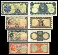 Irlanda - 2x 10 Shillings,1, 5, 10 Pounds - Edición 1943 - 1944 Reproducción 05