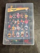 Lego batman minifigures full set in case