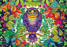 Needlepoint Canvas 14 or 18 count_Owl Art_Lori Everett, Fantasy, Whimsical, Tree