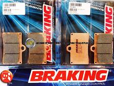 PER HONDA RS GP 250 1997 97 PASTIGLIE ANTERIORE SINTERIZZATE FRENO BRAKING CM55