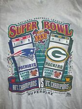 SUPER BOWL XXXI NEW ENGLAND PATRIOTS vs GREEN BAY PACKERS TICKETS (MED) T-Shirt