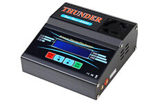 Thunder AC680 Dual-Power LiPo Battery Balance Charger/Discharger w/Adapters USED