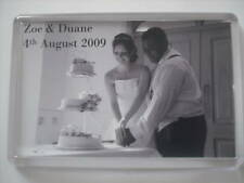 Personalised Fridge Magnet - Wedding Favours