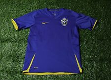 BRAZIL NATIONAL TEAM 2007-2009 FOOTBALL SHIRT JERSEY AWAY NIKE ORIGINAL YOUNG L