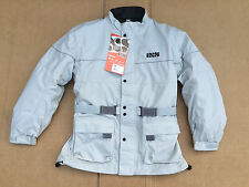"IXS Mens Textile Waterproof Motorcycle Jacket UK 42""- 44"" Chest (LB2) RRP£139.99"