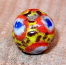 Kiffa African Powder Glass Round Bead Current Production Mauritania, Africa