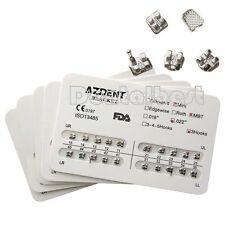 25 Sets Dental Orthodontics Brackets Teeth Braces Mini MBT 022 Metal 3 Hooks UK