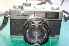 OLYMPUS 35 RD RANGEFINDER 35mm FILM CAMERA WITH F ZUIKO 1.7 40mm LENS