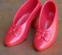 Franklin Mint Scarlett Red Bow doll pumps Love of Tara Shoes fit 15in Twiggy