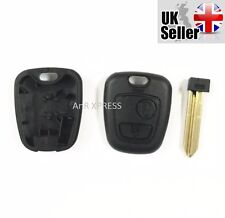 2 BUTTON CITROEN SAXO XSARA BERLINGO PICASSO SX9 KEY FOB CASE SHELL COVER