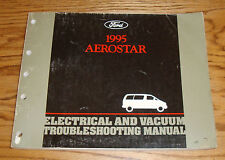 1995 Ford Aerostar Electrical & Vacuum Troubleshooting Manual Wiring Diagram 95