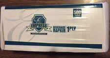 500ct Beverage Paper Napkins White, BEV NAPS COCKTAIL BAR PARTY Restaurant NEW