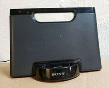 WOW! Sony iPod iPhone Dock Compact Sound Speaker System RDPM5iP Aux Port-E Apple