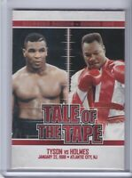 2010 Ringside Boxing Round 1 #64 Mike Tyson Larry Holmes Card