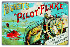 Vintage Antique Style Metal Sign Hignetts Pilot 12x18