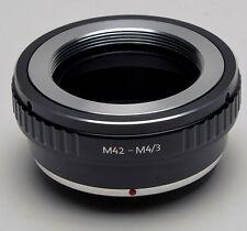 Adattatore per M42 lenti a Olympus Micro 4/3 M4/3 G1 GF1 GH1 E-P2 E-P1