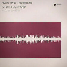 """Powers That Be vs Roland Clark - Planet Rock / Funky Planet (12"""")"""