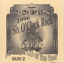 WINTERSUN 1996 SIX O'CLOCK ROCK Nostalgia CD Of The Year CD - New