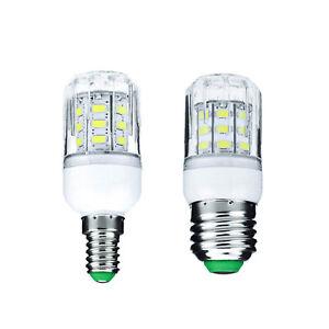 7W E27 E14 27 LED Corn Light Bulbs 5730 SMD 220V DC 12V 24V Warm Cold White Lamp