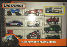 Matchbox MBX 10 car gift set - Sheriff Patrol Car, WILLYS JEEP, CHEROKEE, TANKER