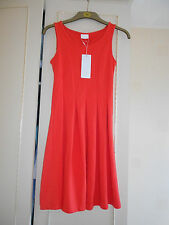"""Stunning Designer Coral Dress form the """"VILA"""" Label: Size Small: BNWT RRP £30.00"""