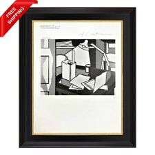 Roy Lichtenstein - Still life with a Lamp, Original Hand Signed Print with COA
