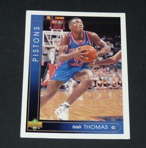 ISIAH THOMAS DETROIT PISTONS 1993-1994 NBA BASKETBALL UPPER DECK CARD