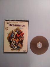 The Decameron (DVD, 1998) Rare Snapcase