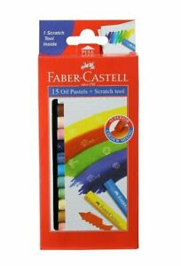 Faber-Castell Oil Pastel Set - Pack of 15 (Assorted)