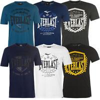 Everlast Herren T-Shirt Tee Sr82 Shirt Kurzarm Baumwolle Fitness NEU S-4XL Sport
