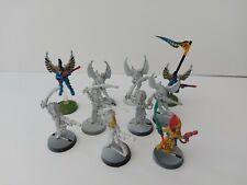 Eldar Howling Banshees X 5, Swooping Hawks x 5 Aeldari Warhammer 40k