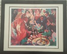 "LEROY NEIMAN ""ROULETTE II"" ORIGINAL SERIGRAPH HAND SIGNED IN PENCIL LOWER RIGHT"