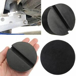 1 Rubber Pad with Slots, Hydraulic Ramp, Jack, Jacking Pad Adapter Trolley Jack