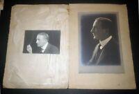 Circa 1900 BROADWAY ACTOR & PLAYWRIGHT PHOTOGRAPH & SIGNATURE - HENRY ESMOND