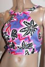 NASTY GAL Brand Purple Floral Crop Top Size XS BNWT #SH92