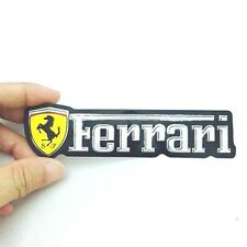 FERRARI LOGO 128 MM. MADE OF THIN FOIL REFLECT PRINT ON PHOTO PAPER