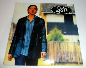 """ASH - GOLDFINGER 7"""" VINYL CLEAR GLITTER SINGLE 1996 RED NUMBERED 163"""