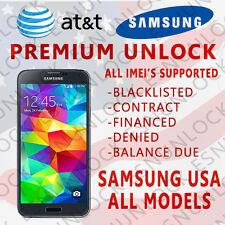 Factory Unlock Code for At&t Samsung Galaxy S8 S8+ S7 SM-G930A SM-G935A NOTE 8 7