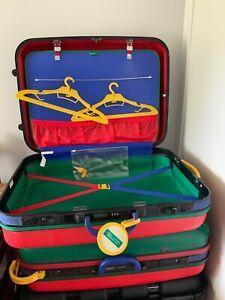 Vintage Benetton Suitcase / luggage