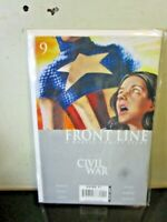 Front Line Civil War #9 Marvel Comics 2006 Captain America BAGGED BOARDED