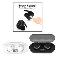 Bluetooth 5.0 sans fil écouteur TWS casque tactile contrôle écouteurs LED