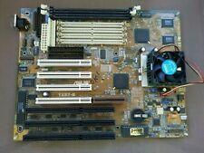 ASUS TX97-E socket 7 motherboard with AMD K6-III processor