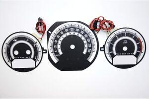 Dodge Caliber & Dodge Avenger & Chrysler Sebring glow gauges dials plasma dials