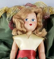 Vintage LOVELY MARY JANE DOLL GIRL 'Dolly Madison' Part of Original Box 1950s