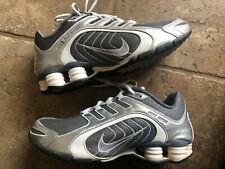 Nike Womens Shox Navina - 337775-001  Glitter Grey Silver Sparkle / White Sz 9.5